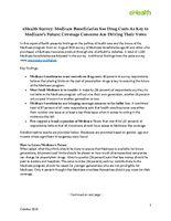 eHealth Survey - Medicare Beneficaries on Politics of Medicare