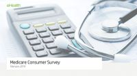 eHealth Medicare Consumer Survey February 2019
