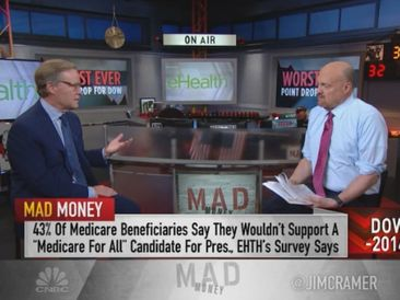 eHealth CEO Scott Flanders on Mad Money, March 9, 2020