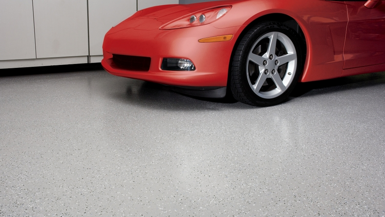 Behr Premium 2-Part Epoxy Garage Floor Coating Proves Garages Are Not Just for Cars Anymore