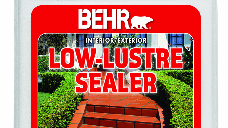 Behr Offers a New Low-Sheen Sealer to Protect and Enhance Interior and Exterior Concrete and Masonry Surfaces