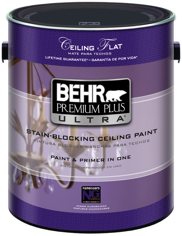 BEHR Paints Premium Plus Ultra Stain-Blocking Ceiling Paint
