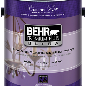 Behr Paints Rolls Out Premium Plus Ultra Stain-Blocking Ceiling Paint
