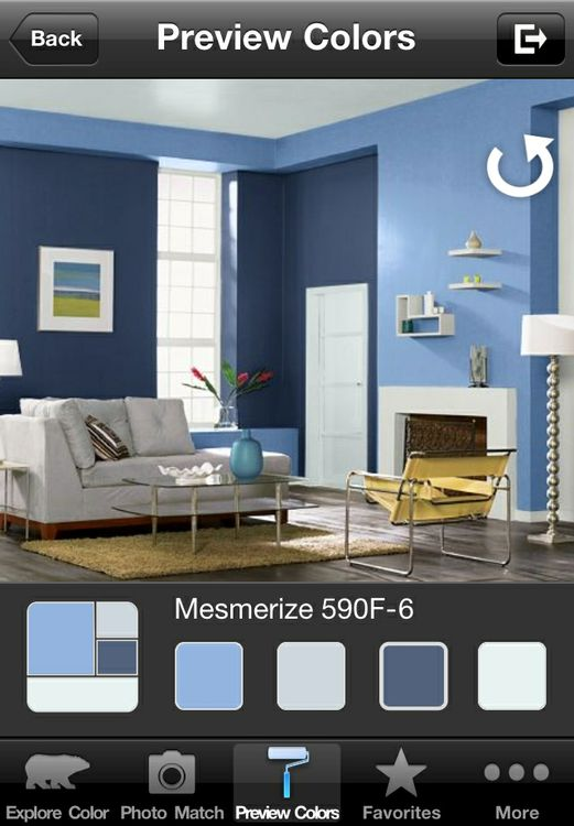 ColorSmart by BEHR Mobile - Android Preview Colors