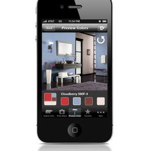 ColorSmart by BEHR Mobile - iPhone Preview Colors