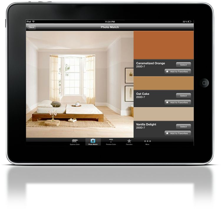 ColorSmart by BEHR Mobile - iPad Photo Match