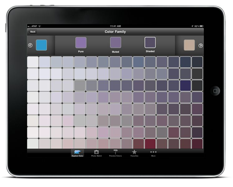 ColorSmart by BEHR Mobile - iPad Color Family