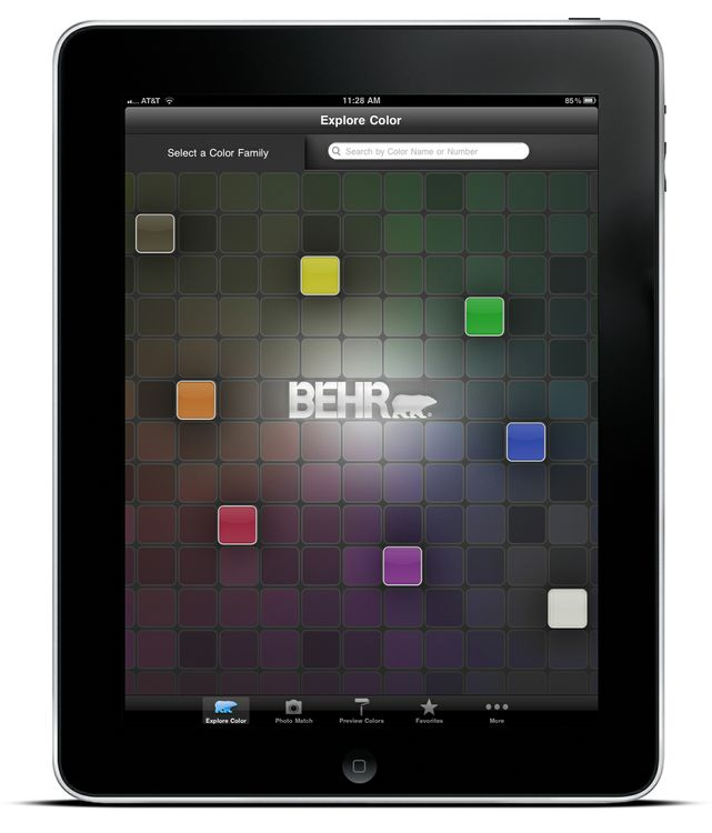 ColorSmart by BEHR Mobile - iPad Explore Color