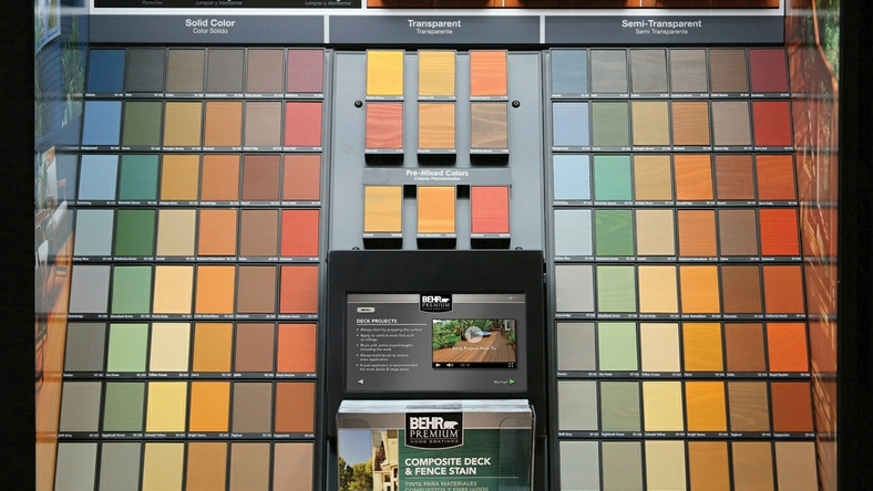 Behr Process Corporation Introduces New Exterior Wood Care Center To Improve And Simplify The DIY Wood Care Experience