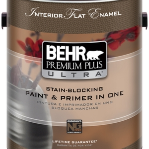 Better Than Ever, Enhanced BEHR Premium Plus Ultra Interior Paint & Primer in One Is The Ideal Choice For Any Home Decorating Project