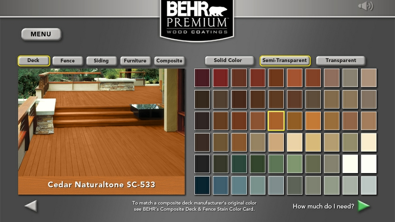 Behr Process Corporation Introduces New Exterior Wood Care Centre to Improve and Simplify the DIY Wood Care Experience