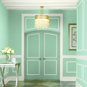 BEHR Paints Zen Entryway