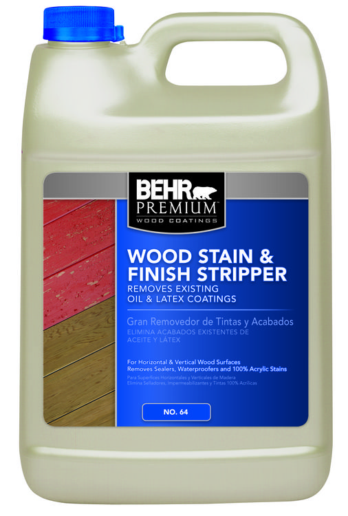 Wood Stain & Finish Stripper