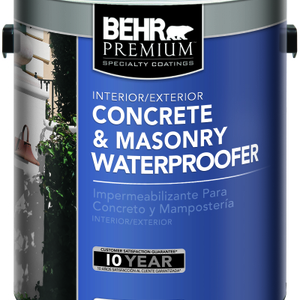 Interior/Exterior Concrete & Masonry Waterproofer