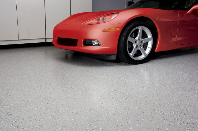 BEHR Paints 2-Part Epoxy Garage Floor Coating
