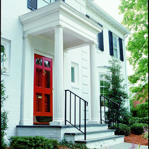 BEHR Paints Colonial Doorstep