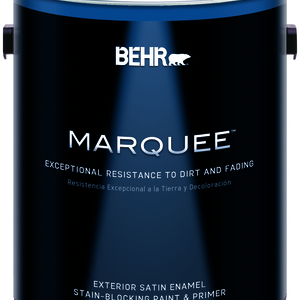 BEHR MARQUEE™ Exterior Paint & Primer Satin Enamel - Gallon