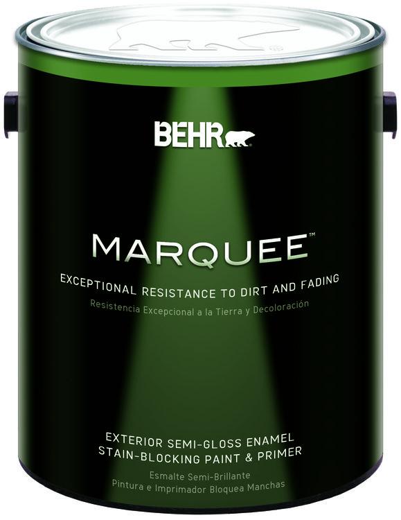 BEHR MARQUEE™ Exterior Paint & Primer Semi-Gloss Enamel - Gallon