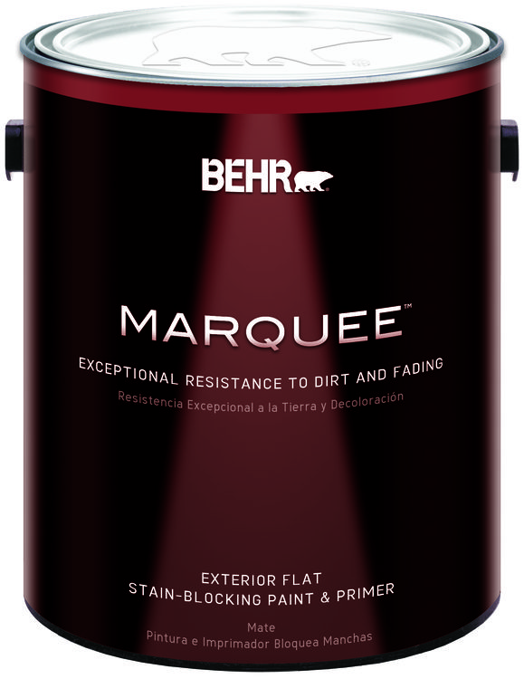 BEHR MARQUEE™ Exterior Paint & Primer Flat - Gallon
