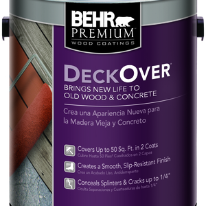 BEHR DECKOVER® Solid Color Coating - Gallon