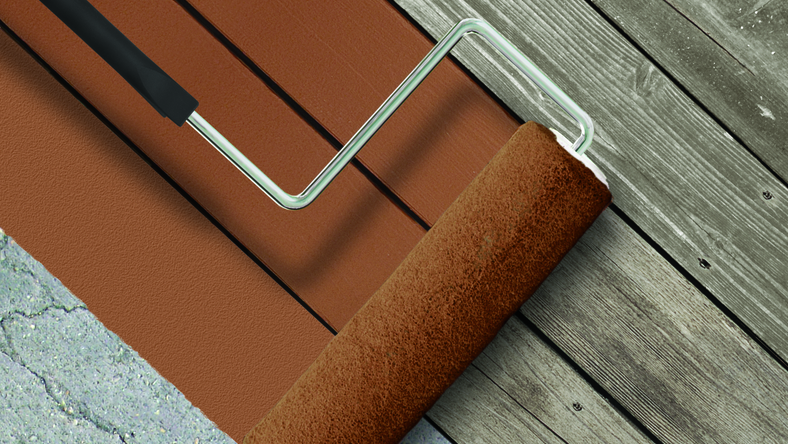 Introducing New BEHR DECKOVER™ Solid Colour Coating, The Revolutionary Solution To Resurface And Revitalize Worn Wood, Composites And Concrete