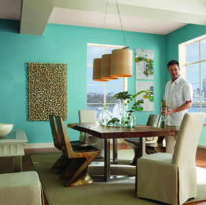 BEHR Paints Seaside Harmony