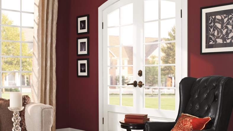 BEHR Paints MARQUEE Bold Confidence Living Room