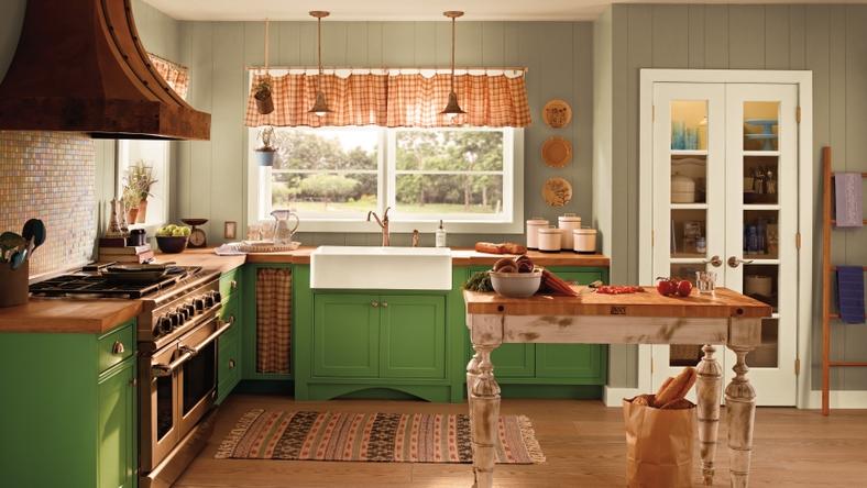 BEHR Paints MARQUEE Cottage Kitchen