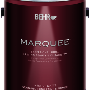 BEHR MARQUEE®  Interior Paint and Primer Matte - 1 Gallon