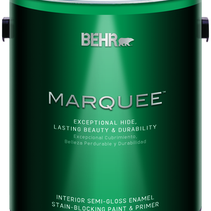 BEHR MARQUEE®  Interior Paint and Primer Semi-Gloss Enamel - 1 Gallon