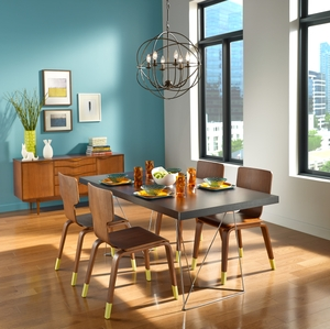 BEHR Paints Social Brights Dining Room
