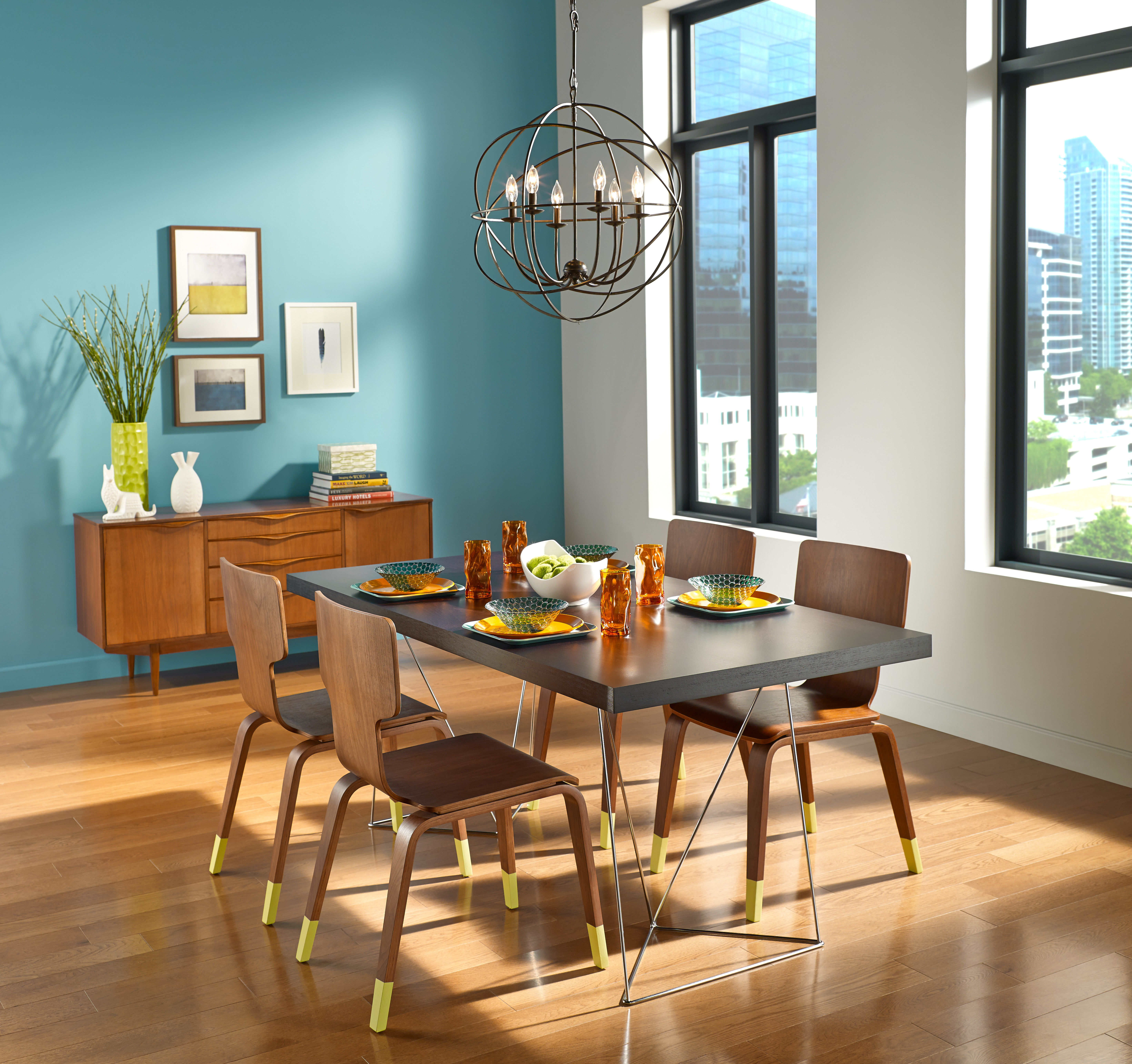 Behr Dining Room Colors: Behr Paints Introduces 2015 Color Trends Featuring Four