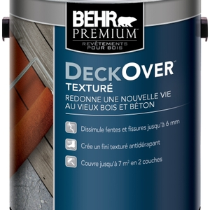 BEHR Premium Textured DECKOVER Coating – Canadian French