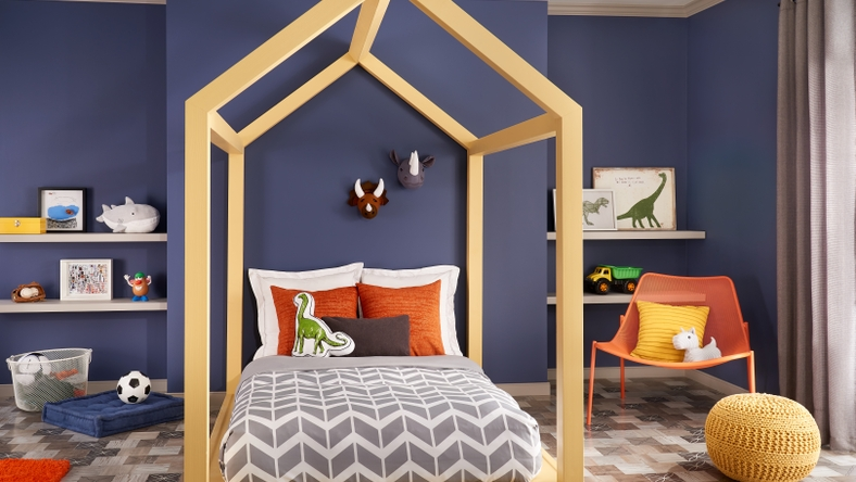 Bedroom, Confident Palette