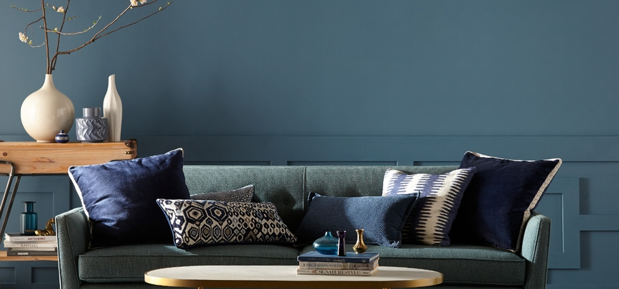 Behr ColorTrends LivingRoom