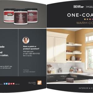 BEHR Marquee One-Coat Hide - Warm Colors Brochure
