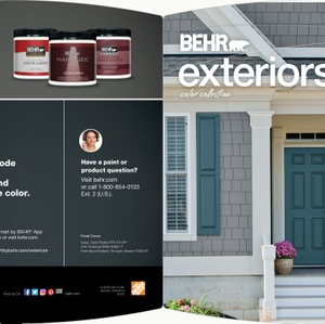 BEHR Exteriors Color Collection Brochure