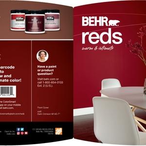 BEHR Reds Warm & Intimate Brochure