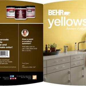 BEHR Yellows Luminous & Playful Brochure