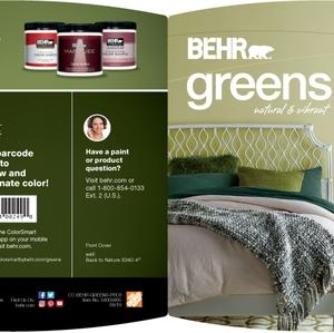 BEHR Greens Natural & Vibrant Brochure