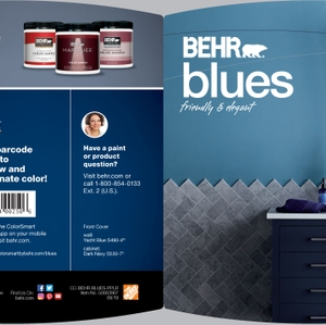 BEHR Blues Friendly & Elegant Brochure