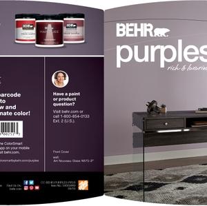 BEHR Purples Rich & Luxurious Brochure