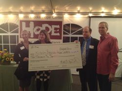 Field for Hope Check Presentation