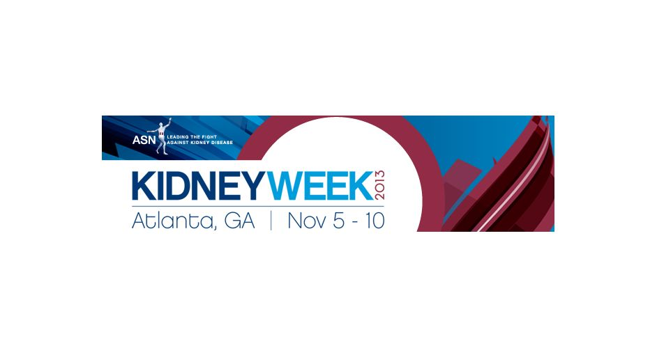 ASN Kidney Week 2013