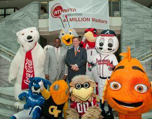 Atlanta Draws 40 Million Visitors in 2012