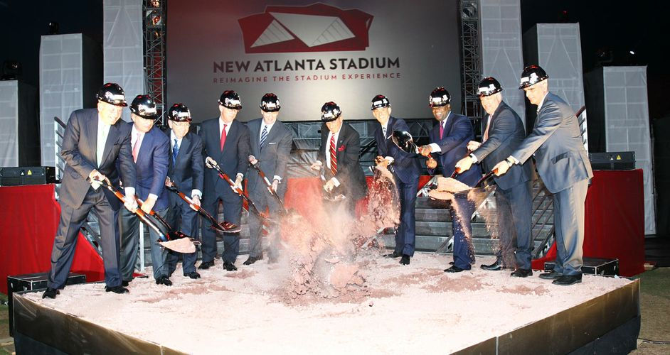 Stadium Groundbreaking Ceremony