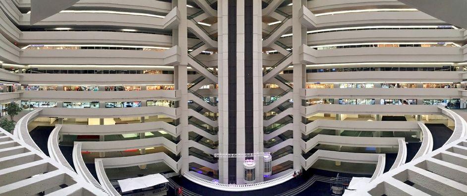 The atrium at AmericasMart Atlanta