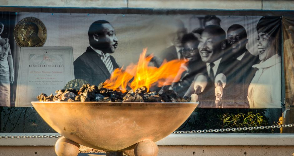 Martin Luther King, Jr. National Historic Park Eternal Flame