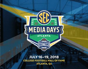 2018 SEC Football Media Days Moving to Atlanta in 2018