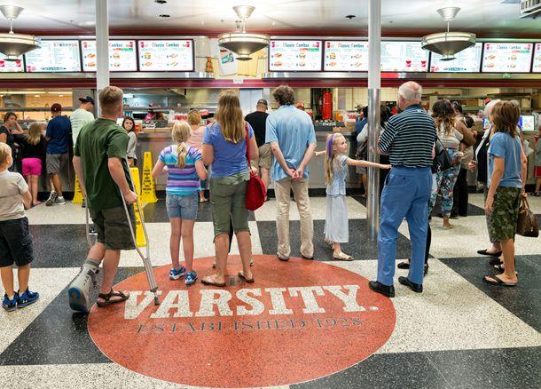 What'll ya have at The Varsity